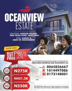 Ocean View Estate Ibeju Lekki, 20mins Drive From Dangote Refinery, Asegun, Ibeju Lekki, Lagos, Mixed-use Land for Sale