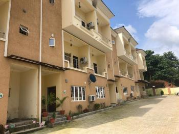 a Nicely Finished House Within a Serene Mini Estate, Guzape District, Abuja, Terraced Duplex for Sale