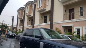 Tastefully Finished & Furnished 4 Bedrooms Terrace House + 1 Room  Bq, Pool Etc., Abiola Court Estate., Agungi, Lekki, Lagos, Terraced Duplex for Sale