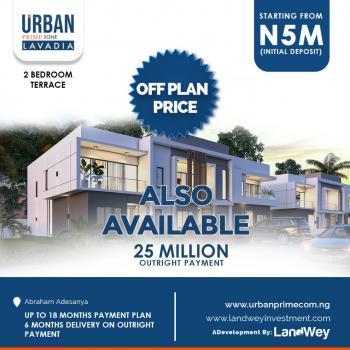 Luxury 2 Bedroom Terrace, Beside Abraham Adesanya, Ajah, Lagos, Terraced Duplex for Sale
