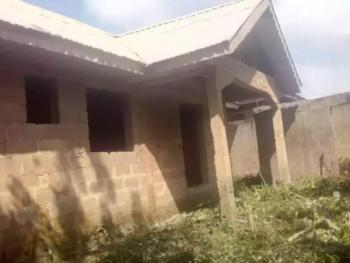 an Uncompleted 3 Bedroom Bungalow Sitting on a Plot of Land, Ijede, Lagos, Detached Bungalow for Sale
