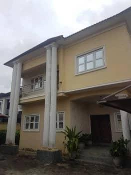 a Beautifully Built 5 Bedroom Fully Detached Duplex with 2 Rooms Bq, Vgc, Lekki, Lagos, Detached Duplex for Rent