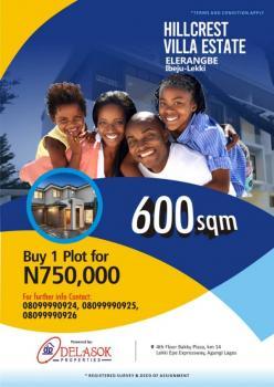 Plot of Land, Eleranigbe, Ibeju Lekki, Lagos, Land for Sale
