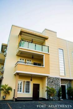 Fitted Kitchen  24/7 Power Supply and Security 3 Bedroom Flat, Lekki Phase 1, Lekki, Lagos, Flat Short Let