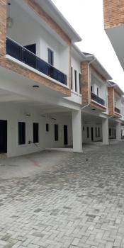 New 4 Bedroom Terrace in a Mini Estate with Central Water Around Chevron Toll Gate, Lagos Island, Lagos, Terraced Duplex for Sale
