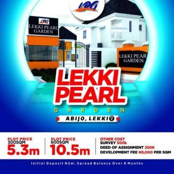 Estate Land with Governors Consent, Opposite Abijo Gra, Abijo, Lekki, Lagos, Residential Land for Sale