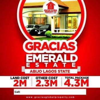 Affordable Estate Land, Opposite Abijo Gra, Abijo, Lekki, Lagos, Residential Land for Sale