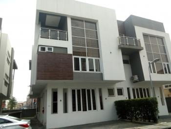 Tastefully 4 Bedroom Fully Service Duplex with Excellent Facility, The Address Home, Osapa, Lekki, Lagos, Semi-detached Duplex for Rent
