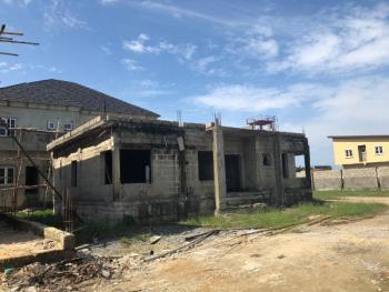 5 Bedroom Duplex Carcass, Ikota Villa Estate, Lekki, Lagos, Detached Duplex for Sale