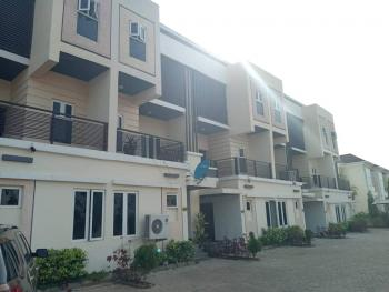 a Nicely Finished House Within a Mini Cozy Estate, Guzape District, Abuja, Terraced Duplex for Sale