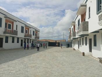 Luxury 3 Bedròoms Terrace in Chevron Axis, Ikota Villa Estate, Lekki, Lagos, Terraced Duplex for Sale