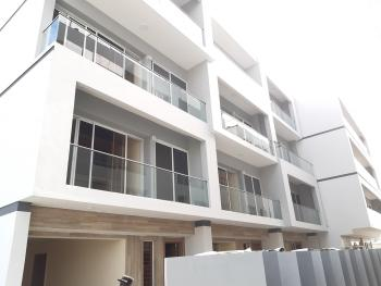 Serviced 4bedroom Terrace, Lekki Phase 1, Lekki, Lagos, Terraced Duplex for Rent