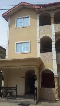 Luxury 4 Bedroom Terrace Duplex with a Room Bq, Tinubu Close, Ilupeju Estate, Ilupeju, Lagos, Terraced Duplex for Sale
