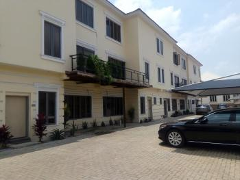 Newly Build and Serviced  4 Bedroom Terraced Duplex with 1 Room Servant Quarter, Generator and Air Conditioner., Off Ibb Way, Maitama District, Abuja, Terraced Duplex for Rent