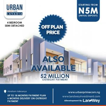 Magnificent and Exceptional Estate with 4 Bedroom Semi Detached Duplex, Abraham Adesanya Estate, Ajah, Lagos, Semi-detached Duplex for Sale