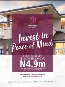 Estate Land with Excision, Close to The Major Express, Bogije, Ibeju Lekki, Lagos, Residential Land for Sale