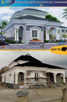 Luxury 4 Bedroom Detached Duplex Villa with Bq, Eleko, Ibeju Lekki, Lagos, Detached Duplex for Sale