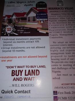 Estate Lands, Behind Asaba Airport, Asaba, Delta, Mixed-use Land for Sale