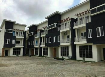 4 Bedroom Terrace Duplex with a Bq, Coza Area, Guzape District, Abuja, Terraced Duplex for Sale