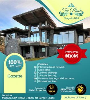 The Plush, Inside Magodo Gra Phase 1, Gra, Magodo, Lagos, Residential Land for Sale