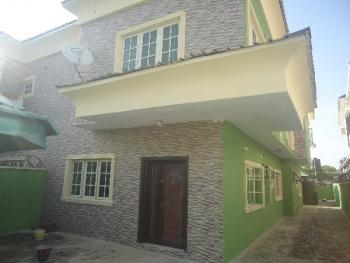 Nicely Built 4 Bedroom Semi Detached with 2 Room Bq and Excellent Facilities, Osapa, Lekki, Lagos, Semi-detached Duplex for Rent