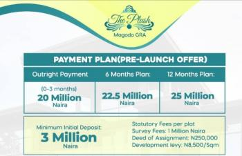 The Plush, Gra, Magodo, Lagos, Residential Land for Sale