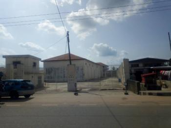 a Large Warehouse with Office Block. Suitable for School, Banking Use, Filling Station, Event Center, Worship Center, No 57, Brigadier Ademulegun Road,, Ondo West, Ondo, Warehouse for Sale