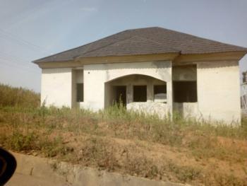 3 Bedroom Bungalow Carcass, Karsana (gwarimpa Extension), Gwarinpa, Abuja, Detached Bungalow for Sale