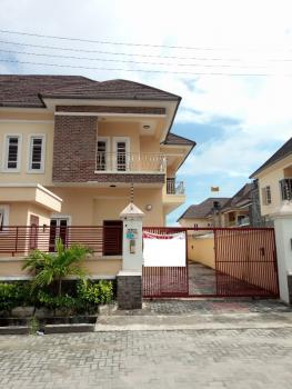 Spetacularly Finished 4 Bedroom Semi Detached Duplex with a Room Staff Quarters, White Oak Estate, Behind Dominos Pizza, Ologolo, Lekki, Lagos, Detached Duplex for Sale