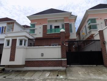 Beautiful 4 Bedroom Fully Detcahed Duplex with Bq, Osapa, Lekki, Lagos, Semi-detached Duplex for Rent
