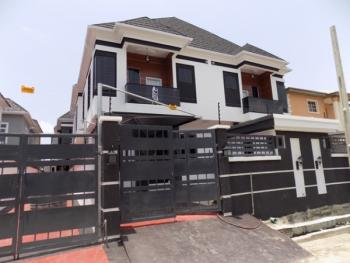 Luxury 4 Bedroom Semi Detcahed Duplex with Bq in a a Gated Estate..., Chevy View Estate, Lekki, Lagos, Semi-detached Duplex for Rent