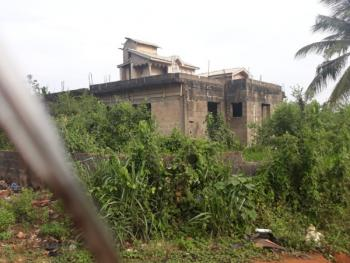 Block of 2 Nos 3 Bedroom Flat with First Floor Slab in Place, Off Igbogbo-bayeku Road, Banjoko Bus-stop, Igbogbo, Ikorodu, Lagos, Block of Flats for Sale