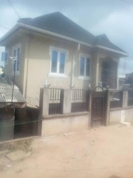 Relatively New 3 Bedroom Terrace Duplex (2units Sharing Compound), Obawole Off Iju Road, Fagba, Agege, Lagos, Terraced Duplex for Rent