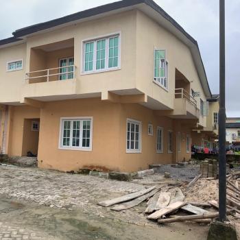 5 Bedroom Semi Detached House (carcass), Lekki Garden Phase 4 By Lbs Lekki, Lekki Gardens Estate, Ajah, Lagos, Semi-detached Duplex for Sale