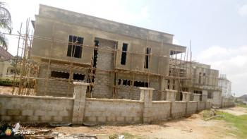 3 Blocks of 4 Bedroom Semi Detached Duplex +bq (carcass), Katampe Extension, Katampe, Abuja, Semi-detached Duplex for Sale