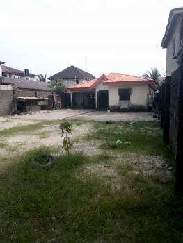 814sqm of Land with 4 Bedroom Bungalow Fenced, Before Sangotedo Shop Rite, Sangotedo, Ajah, Lagos, Commercial Land for Sale