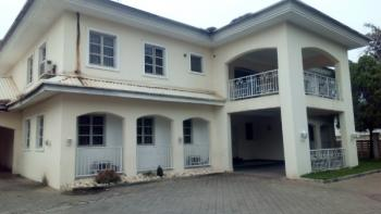 Well Finished 5 Bedroom Detached Duplex with 2 Room Boys Qouter Large Compound Space with Generator, Off Ibb Way, Maitama District, Abuja, Detached Duplex for Rent