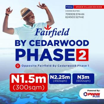 Fairfield By Cedarwood 2 (exicision Titled), Apakin Community, Akodo Ise, Ibeju Lekki, Lagos, Mixed-use Land for Sale