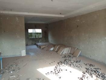a Solidly Built Semi-finished Terrace Building with Tiling and P.o.p Installed. We Negotiate and Also Discuss Payment Terms, Adjacent Ebeano Supermarket Via a Tarred Access, Gaduwa, Abuja, Terraced Duplex for Sale