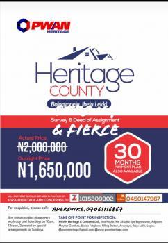 Heritage County, Akodo Ise, Ibeju Lekki, Lagos, Mixed-use Land for Sale