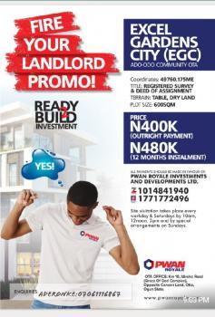 Excel Garden City, Atan Ota, Ado-odo/ota, Ogun, Mixed-use Land for Sale