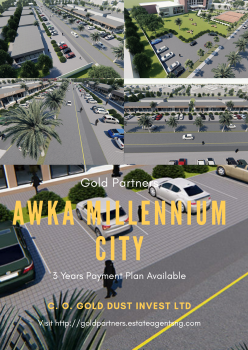 Awka Millennium City|by Gold Partners®, The Three Arm Zone Nnamdi Azikiwe Avenue, Off Old Enugu Road., Awka, Anambra, Residential Land for Sale