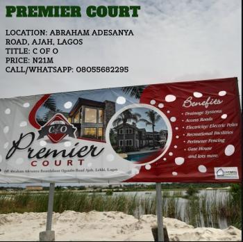 Premier Court Land, Abraham Adesanya Road, Ogombo, Ajah, Lagos, Mixed-use Land for Sale