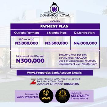 Unbeatable Deal in Ikorodu, Agbowa, Ikorodu, Lagos, Mixed-use Land for Sale