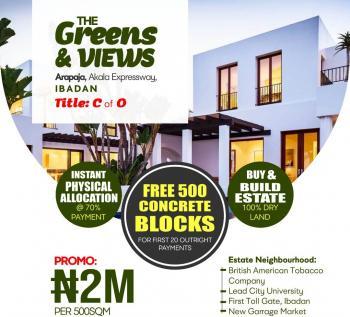 Greens and Views Estate, Alao Akala Express Way, Ibadan, Oyo, Residential Land for Sale