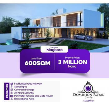 Dominion City Gardens, Magboro, Ogun, Residential Land for Sale