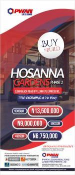 Hossanah Gardens Land, Eleko, Ibeju Lekki, Lagos, Mixed-use Land for Sale