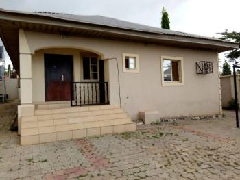Nicely Built 3 Bedroom Bungalow with 1 Bedroom Boys' Quarter, Orozo, Abuja, Detached Bungalow for Sale