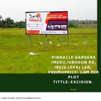 Most Affordable Excision Land, Orimedu, Igbogun Road, Folu Ise, Ibeju Lekki, Lagos, Mixed-use Land for Sale