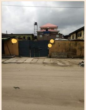 Fenced 509sqm Strategically  Located Plot, Babs Animashaun, Surulere, Lagos, Mixed-use Land for Sale